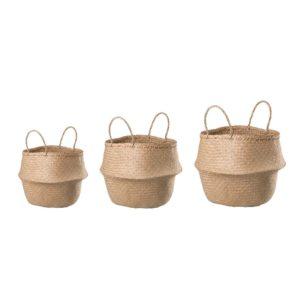 cestas de mimbre 3 tamaños