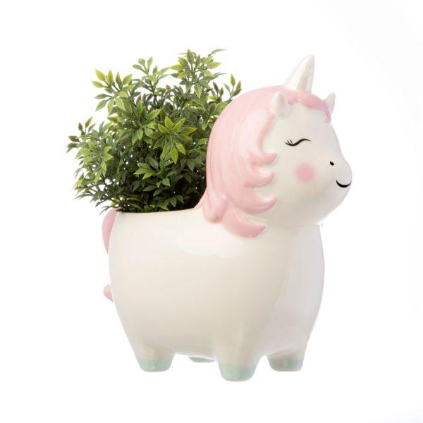 Macetas unicornio para plantas Sass y Belle Decoplantia