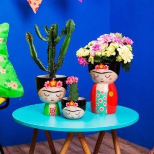 Frida Kahlo decoración Decoplantia
